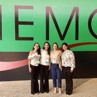 A equipe médica e técnica do SHH - Serviço de Hematologia participou do Hemo 2019