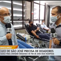 Banco de Sangue de SJC precisa de doações no final do ano