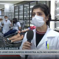 Dra. Silvia Guedes dá entrevista à TV Band Vale sobre o aumento nas doações de sangue e a coleta de plasma convalescente